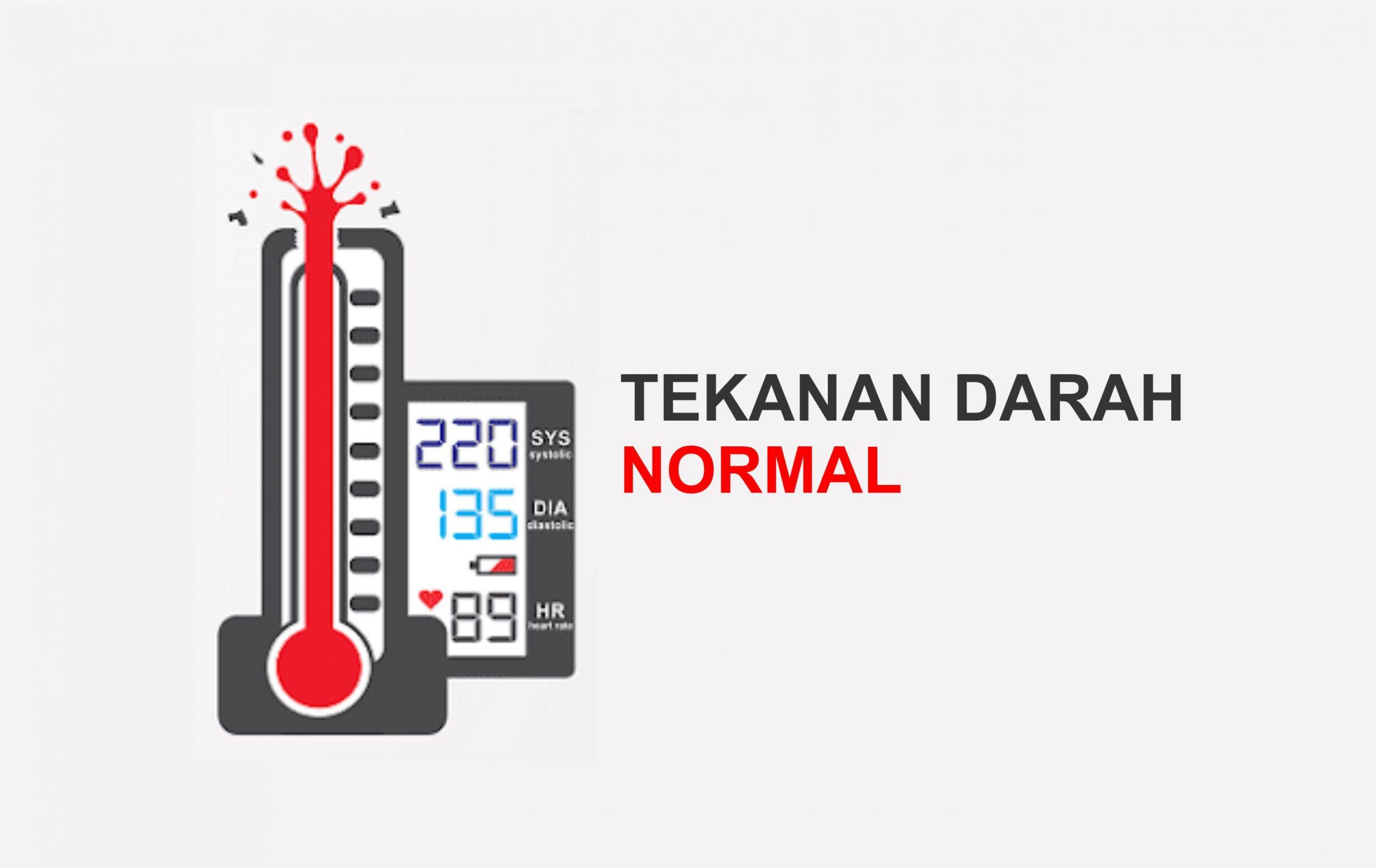 Tekanan Darah Normal