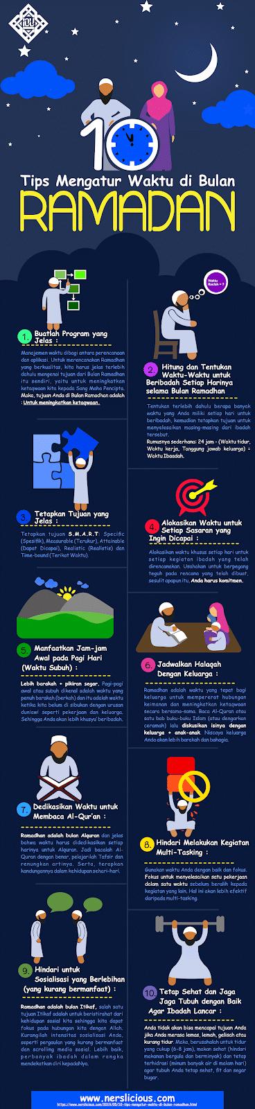 mengatur waktu di bulan ramadhan