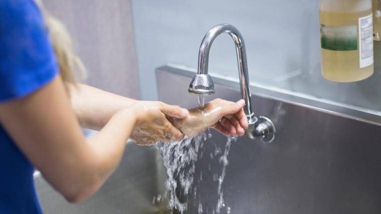 SOP Mencuci Tangan Biasa